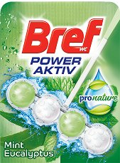 Тоалетно блокче - Bref Power Aktiv ProNature -