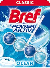 Тоалетно блокче - Bref Power Aktiv - С аромат на океан - опаковки от 1 ÷ 3 броя -