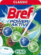 Тоалетно блокче - Bref Power Aktiv - масло