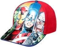 """Детска шапка - Avengers - От серията """"Отмъстителите"""" - пъзел"""