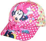 """Детска шапка - Мини Маус - От серията """"Mickey Mouse"""" - пъзел"""