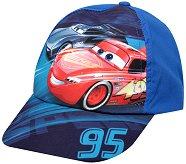"""Детска шапка с UV защита - Cars - От серията """"Колите"""" - пъзел"""