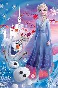 """Елза и Олаф - Детски пъзел от серията """"Замръзналото кралство"""" - пъзел"""