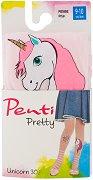 Детски фигурален чорапогащник - Pretty: Unicorn - 30 DEN -