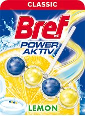 Тоалетно блокче - Bref Power Aktiv - С аромат на лимон - опаковки от 1 ÷ 4 броя - продукт