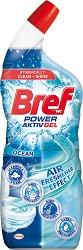 Почистващ препарат за тоалетна - Bref Power Activ Gel - дамски превръзки