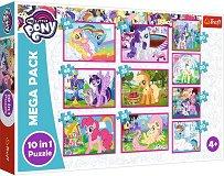 Малкото пони - Вълшебен свят - 10 пъзела - играчка