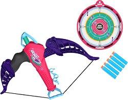Арбалет - Комплект със стрелички и мишена - играчка