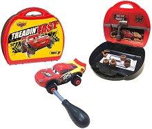 МакКуин с преносим автосервиз - играчка