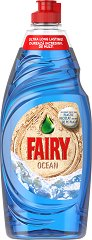 Препарат за миене на съдове - Fairy Ocean - Разфасовка от 0.500 l -
