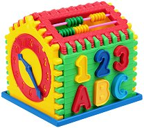 Сортер - Къщичка - Детска образователна играчка за сортиране - продукт