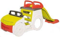 Детски център - Кола с пързалка -