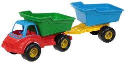 Самосвал с ремарке - Играчка за пясък - играчка