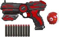 Пистолет и мишена - топка - играчка