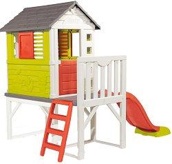 Детски център - Къща с пързалка -