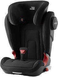 """Детско столче за кола - Kidfix 2 S: Cosmos Black - С """"Isofix"""" система за деца от 15 до 36 kg -"""