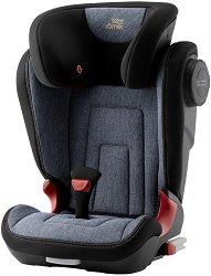 """Детско столче за кола - Kidfix 2 S: Marble - С """"Isofix"""" система за деца от 15 до 36 kg -"""