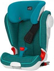 """Детско столче за кола - Kidfix II XP SICT: Marble - С """"Isofix"""" система за деца от 15 до 36 kg -"""