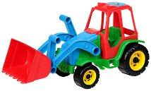 Трактор с лопата - Детска играчка -