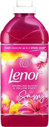 Омекотител за пране с флорален ромат - Lenor - Разфасовка от 1.4 l -