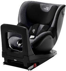"""Детско столче за кола - Dualfix M i-Size: Graphite Marble - За """"Isofix"""" система и деца от 3 месеца до 18 kg -"""