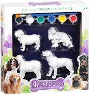 Декорирай сам - Кучета - Творчески комплект -