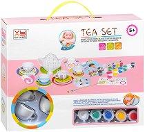 Декорирай сама - Сервиз за чай - Творчески комплект -