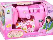 Шевна машина - Детска играчка със светлинни и звукови ефекти -