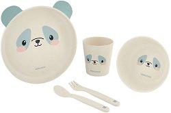 Детски комплект за хранене - Panda -