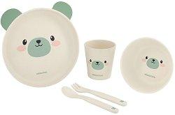Детски комплект за хранене - Bear - За бебета над 6 месеца -