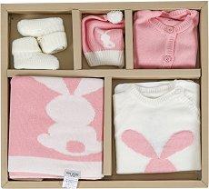 Комплект за изписване от 5 части - 100% памук за бебета от 0+ до 3 месеца -