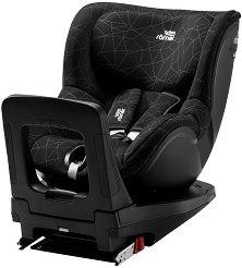 """Детско столче за кола - Dualfix i-Size: Crystal Black - За """"Isofix"""" система и деца от 0 месеца до 18 kg -"""