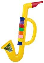 Мини саксофон с 8 клавиша - Детски музикален инструмент -