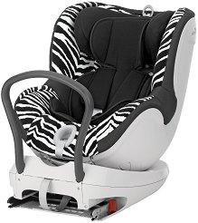 """Детско столче за кола - Dualfix: Smart Zebra - За """"Isofix"""" система и деца от 0 месеца до 18 kg - пюре"""