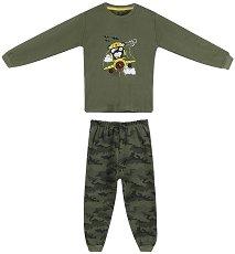 Детска пижама - 100% памук -