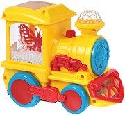 Локомотив - Детска играчка със светлинни и звукови ефекти - играчка