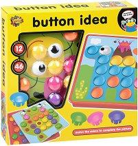 Мозайка - Button Idea - Детски образователен комплект - играчка