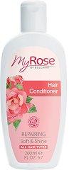 My Rose Repairing Hair Conditioner - Възстановяващ балсам за коса с екстракт от българска роза - шампоан