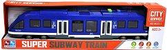 Мотриса за метро - Детска играчка със светлинни и звукови ефекти -