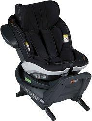 Детско столче за кола - iZi Turn i-Size: Premium Car Interior Black - За деца от 6 месеца до 4 години - пюре