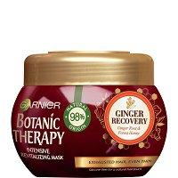 Garnier Botanic Therapy Ginger Recovery Revitalizing Mask - Ревитализираща маска за изтощена и слаба коса с джинджифил и мед - маска