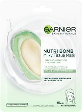 Garnier Nutri Bomb Milky Tissue Mask - продукт