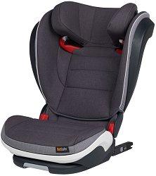 """Детско столче за кола - iZi Flex S FIX - За """"Isofix"""" система и деца от 15 до 36 години - пюре"""