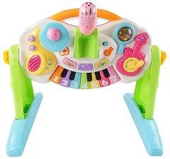 Музикален център - Детска играчка със светлинни и звукови ефекти -