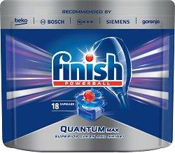 Таблетки за съдомиялна - Finish Quantum Max -