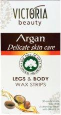 Victoria Beauty Argan Legs & Body Wax Strips - крем