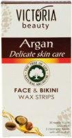 Victoria Beauty Argan Face & Bikini Wax Strips - серум