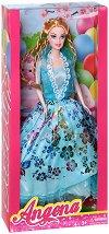Кукла Анджина в бална рокля - кукла