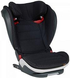 """Детско столче за кола - iZi Flex S FIX: Premium Car Interior Black - За """"Isofix"""" система и деца от 15 до 36 години -"""