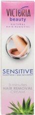 Victoria Beauty Sensitive Hair Removal Cream - Депилиращ крем с екстракт от алое вера - продукт